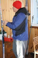 Random image: Doug about to Ski