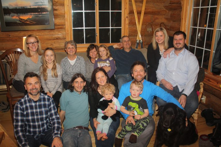 Thanksgiving 2015 Family Photo